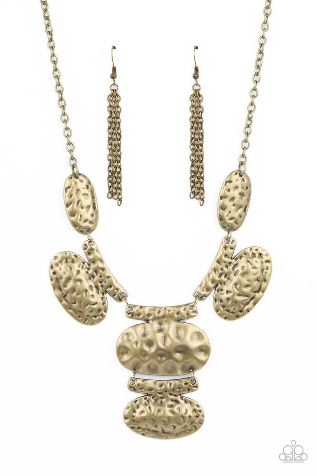 Gallery Relic - Brass - Paparazzi Necklace Image