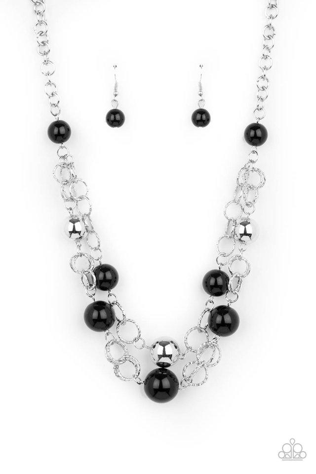 New Age Knockout - Black - Paparazzi Necklace Image