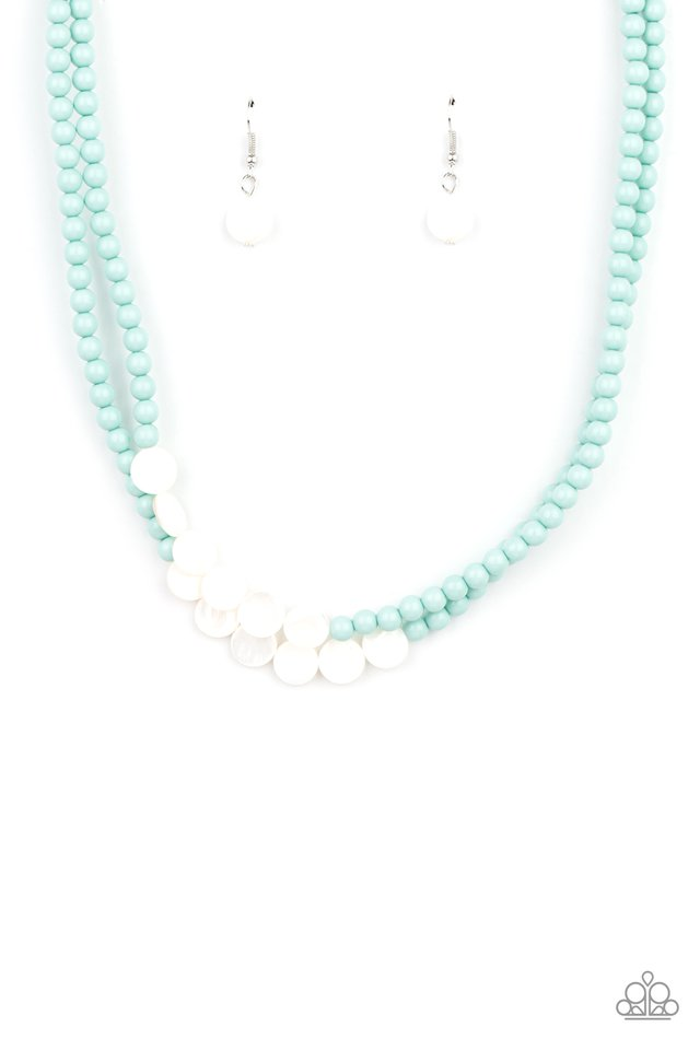 Extended STAYCATION - Blue - Paparazzi Necklace Image