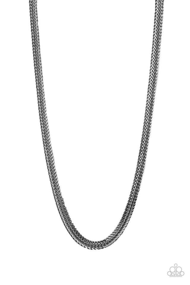 Extra Extraordinary - Black - Paparazzi Necklace Image
