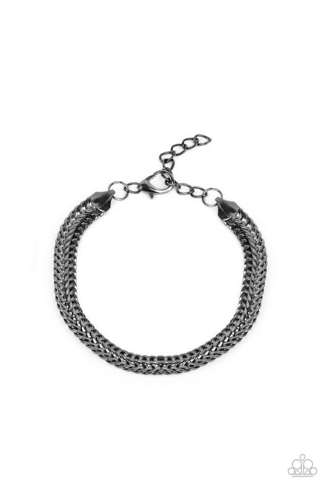 Extraordinary Edge - Black - Paparazzi Bracelet Image