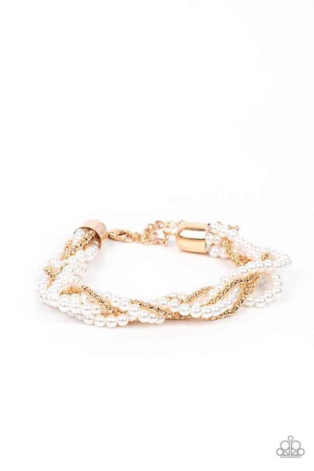 Vintage Variation - Gold - Paparazzi Bracelet Image