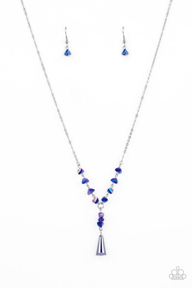Olympian Oracle - Blue - Paparazzi Necklace Image