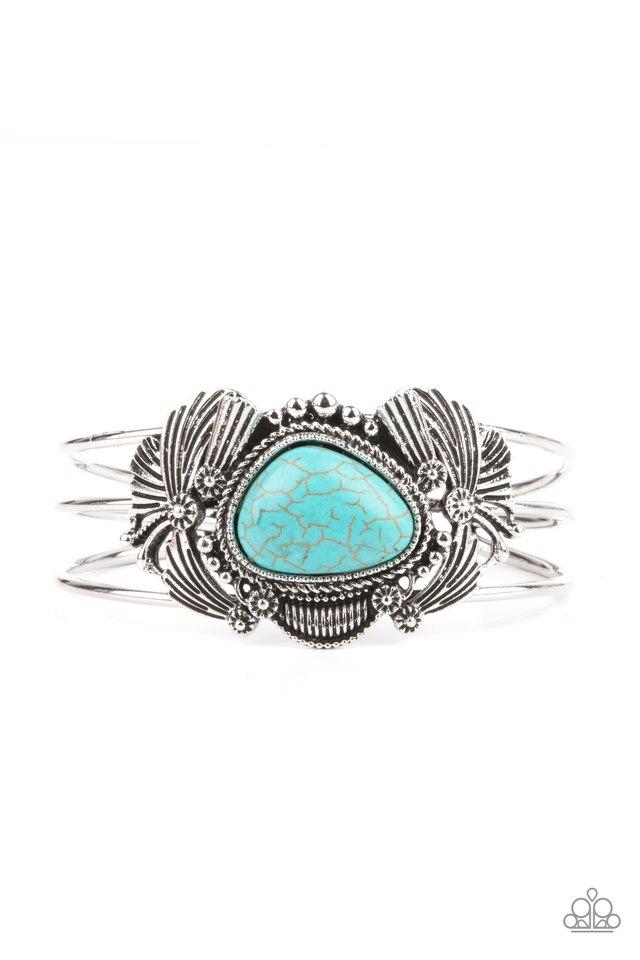Western Wonderland - Blue - Paparazzi Bracelet Image
