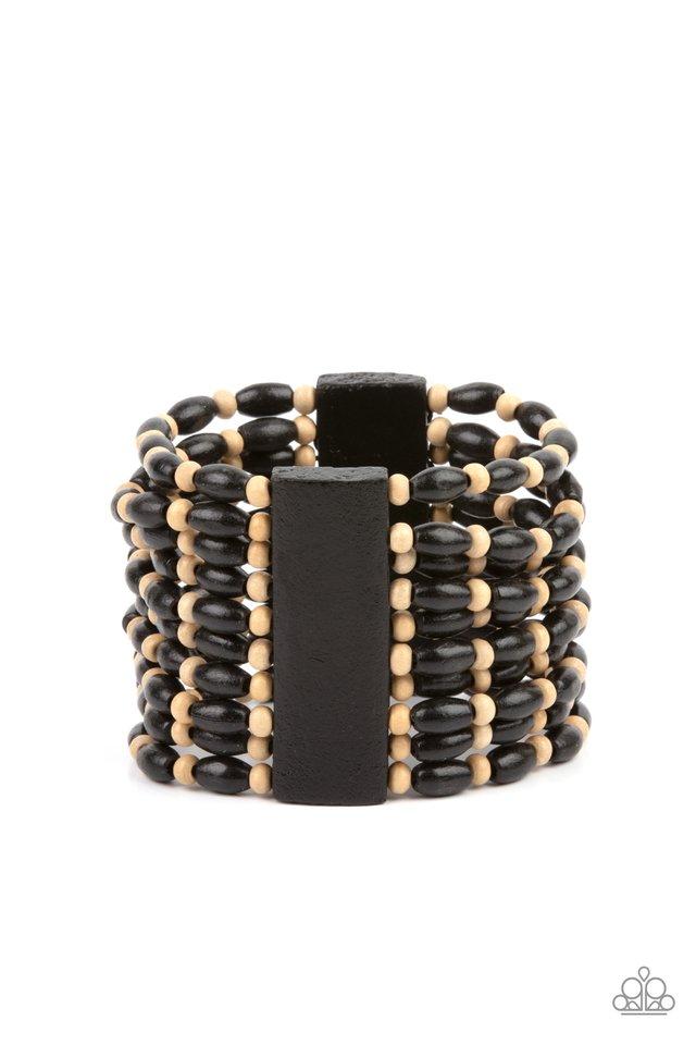Cayman Carnival - Black - Paparazzi Bracelet Image