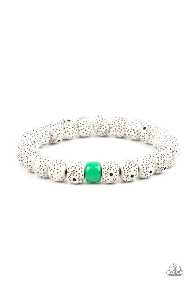 ZEN Second Rule - Green - Paparazzi Bracelet Image