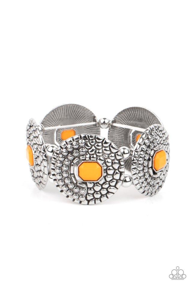 Prismatic Prowl - Orange - Paparazzi Bracelet Image