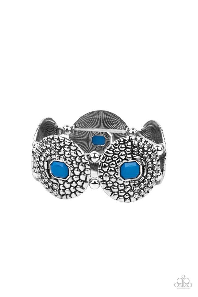 Prismatic Prowl - Blue - Paparazzi Bracelet Image