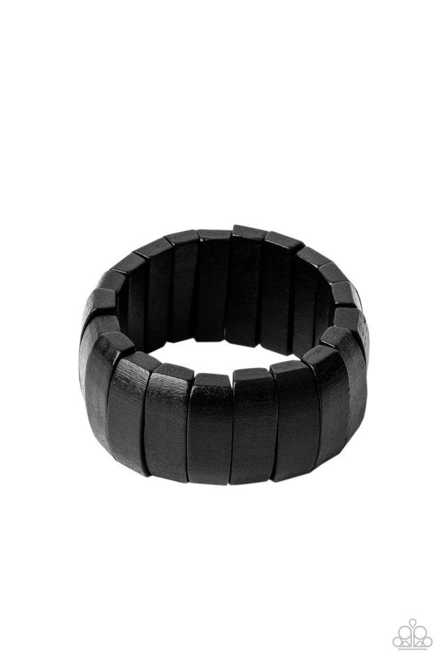 Raise The BARBADOS - Black - Paparazzi Bracelet Image