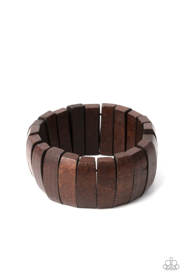 Raise The BARBADOS - Brown - Paparazzi Bracelet Image