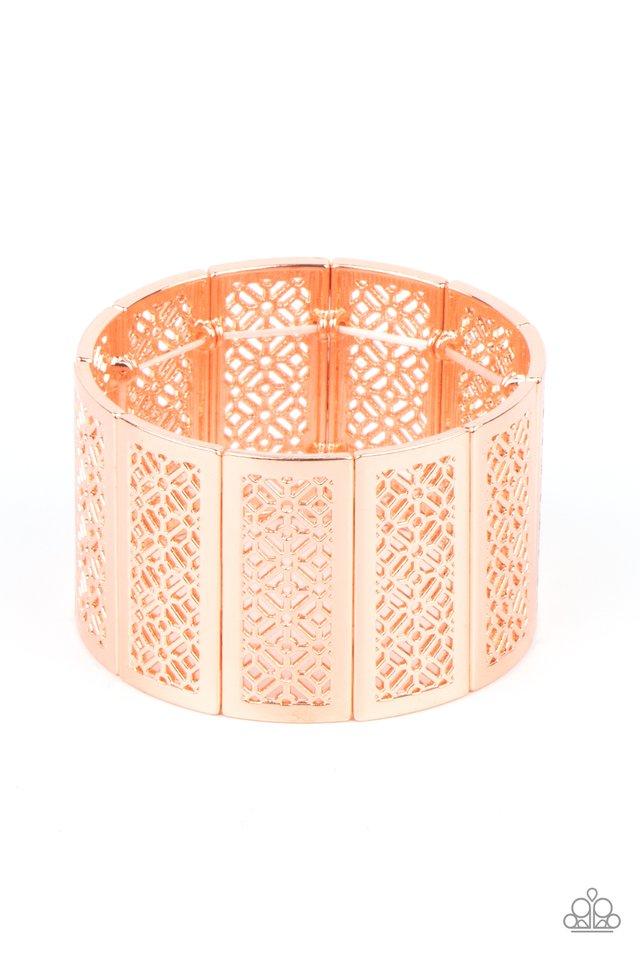 Thai Terrariums - Copper - Paparazzi Bracelet Image