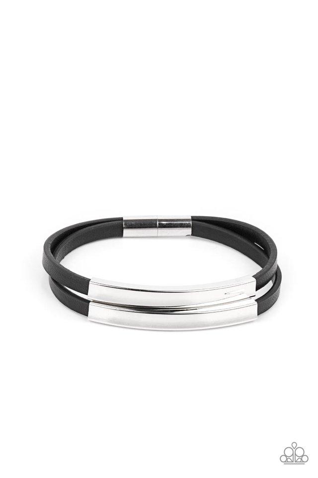 Dangerously Divine - Black - Paparazzi Bracelet Image