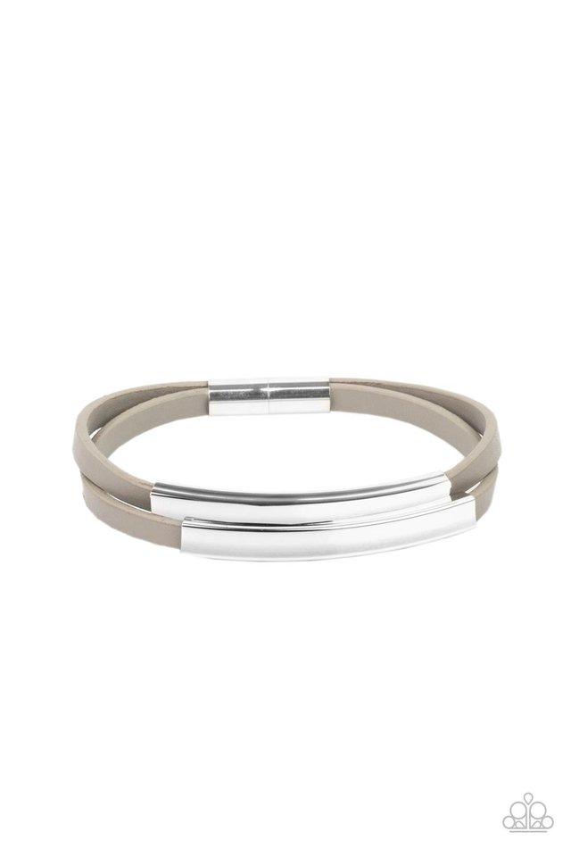 Dangerously Divine - Silver - Paparazzi Bracelet Image