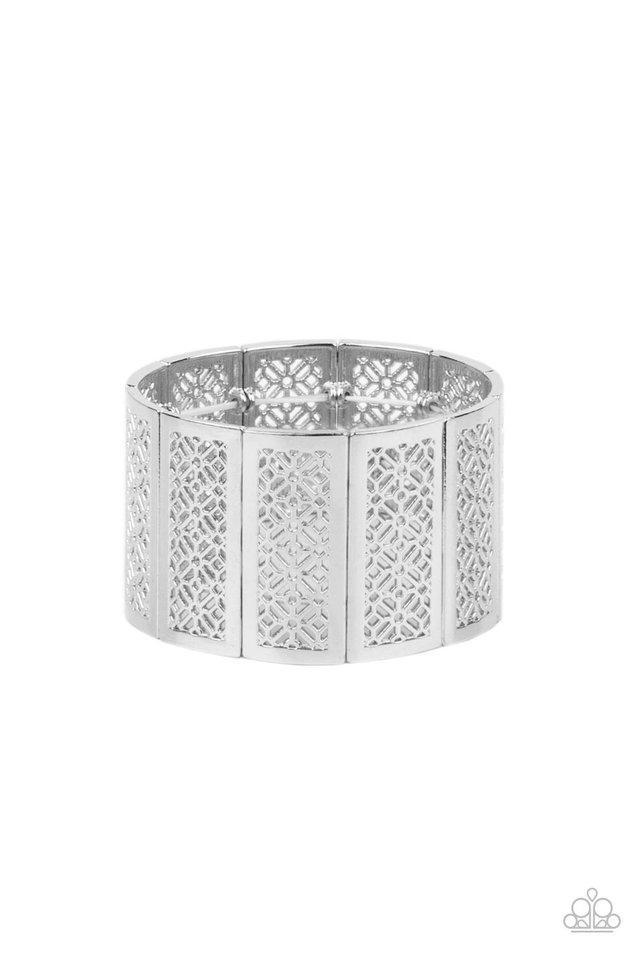 Thai Terrariums - Silver - Paparazzi Bracelet Image