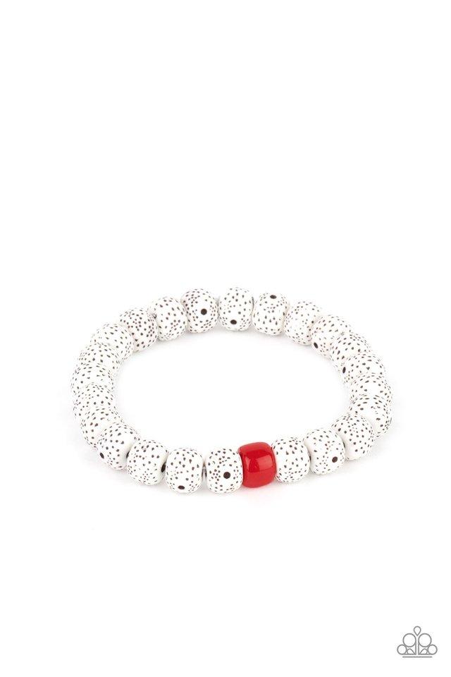 ZEN Second Rule - Red - Paparazzi Bracelet Image
