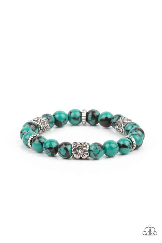 Garden Zen - Green - Paparazzi Bracelet Image