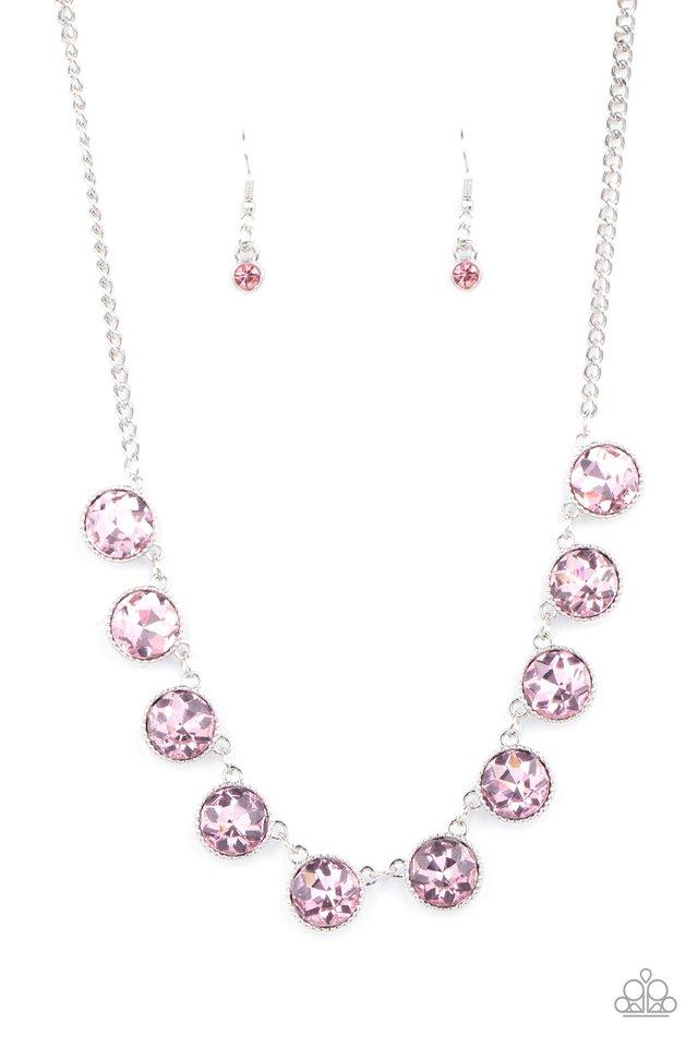 Mystical Majesty - Pink - Paparazzi Necklace Image