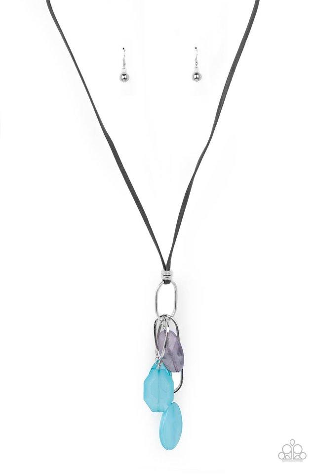 Fundamentally Flirtatious - Blue - Paparazzi Necklace Image