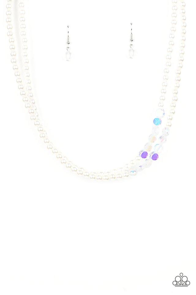 Poshly Petite - White - Paparazzi Necklace Image