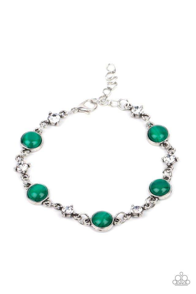 Use Your ILLUMINATION - Green - Paparazzi Bracelet Image