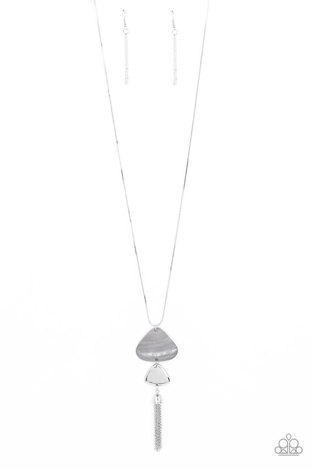 TIDE You Over - Silver - Paparazzi Necklace Image