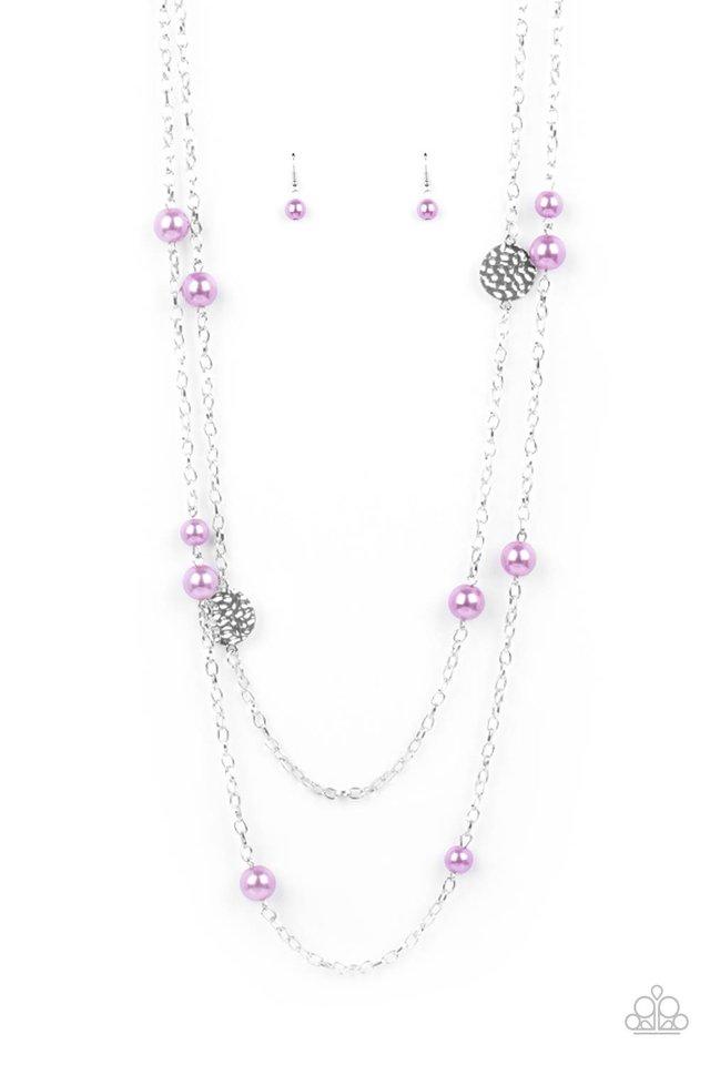 Sublime Awakening - Purple - Paparazzi Necklace Image