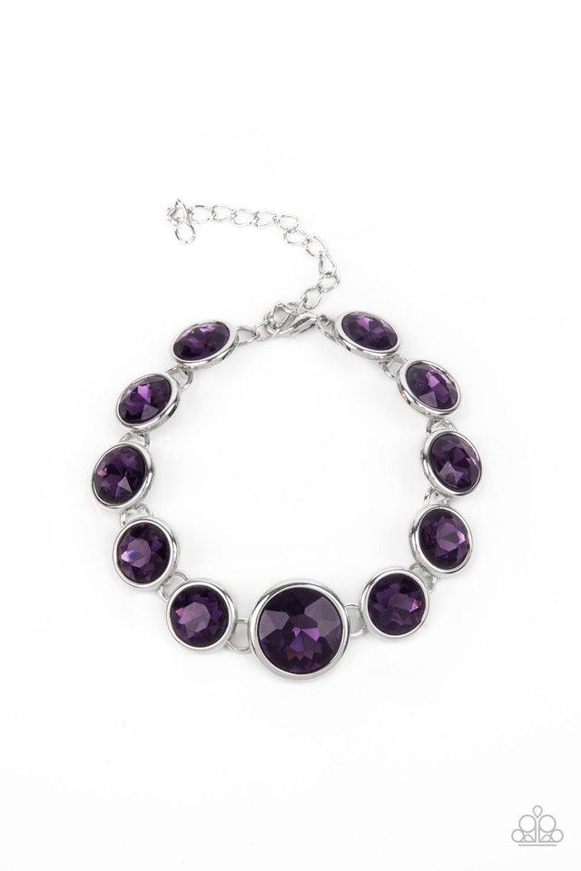 Lustrous Luminosity - Purple - Paparazzi Bracelet Image