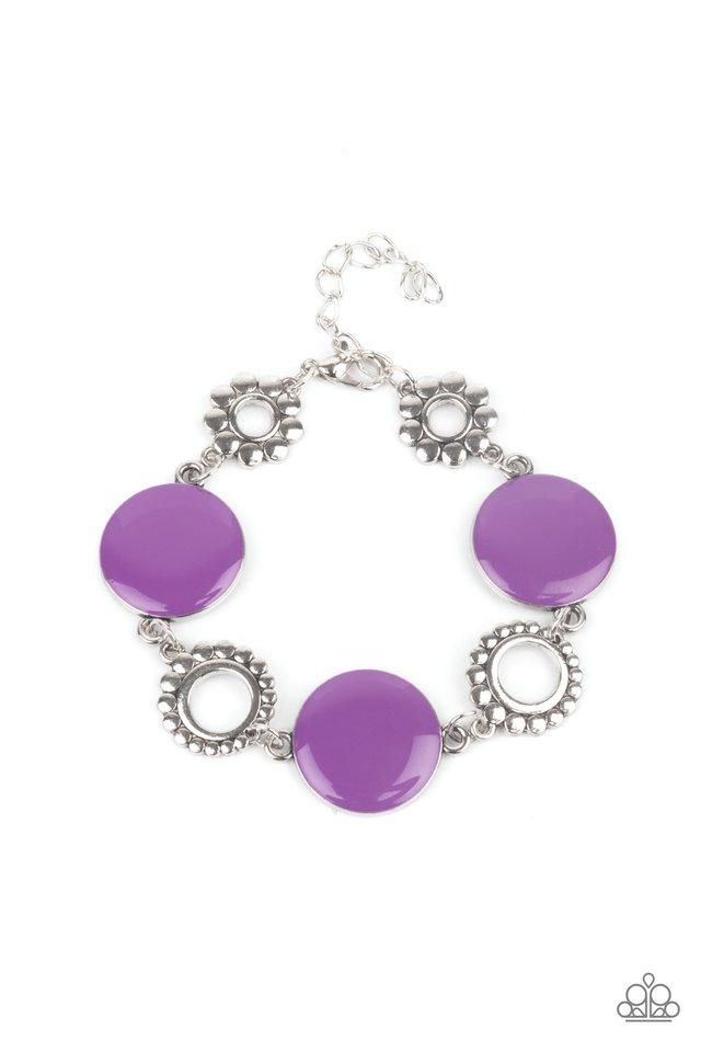 Garden Regalia - Purple - Paparazzi Bracelet Image
