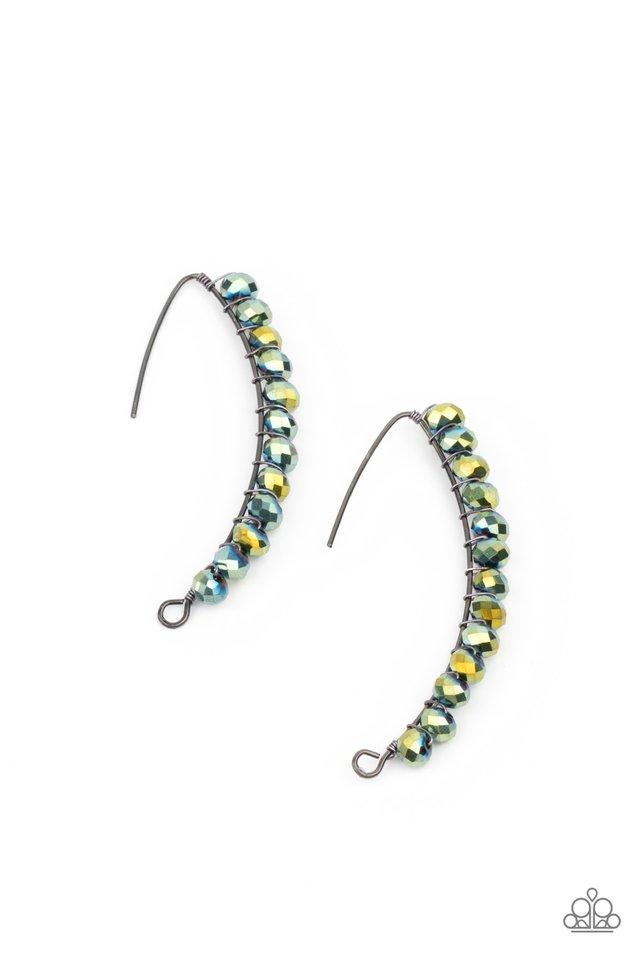 GLOW Hanging Fruit - Multi - Paparazzi Earring Image