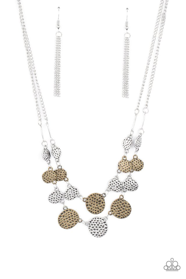 Pebble Me Pretty - Multi - Paparazzi Necklace Image
