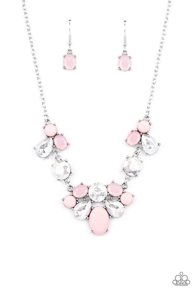Ethereal Romance - Pink - Paparazzi Necklace Image