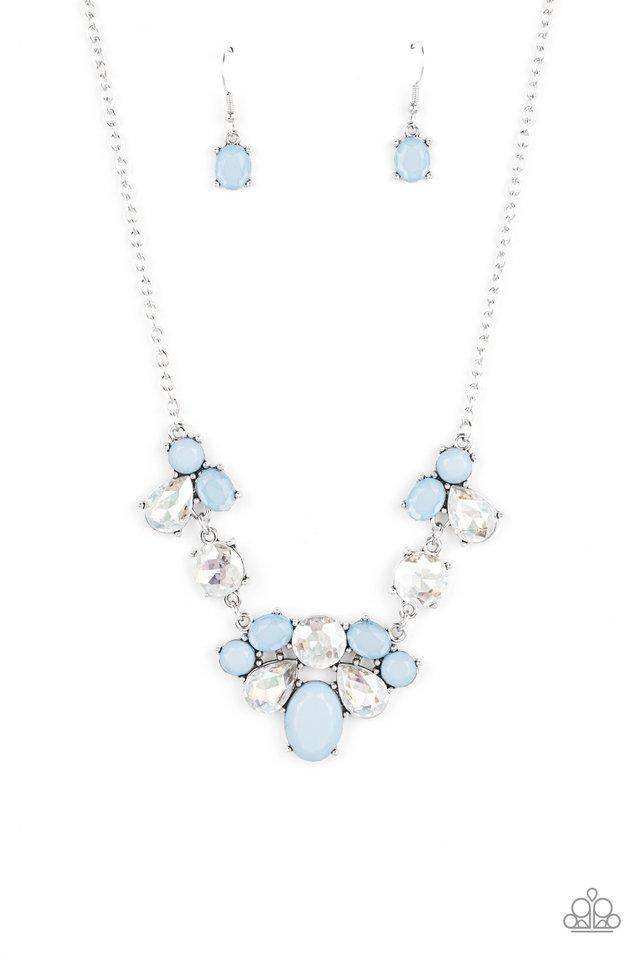Ethereal Romance - Blue - Paparazzi Necklace Image