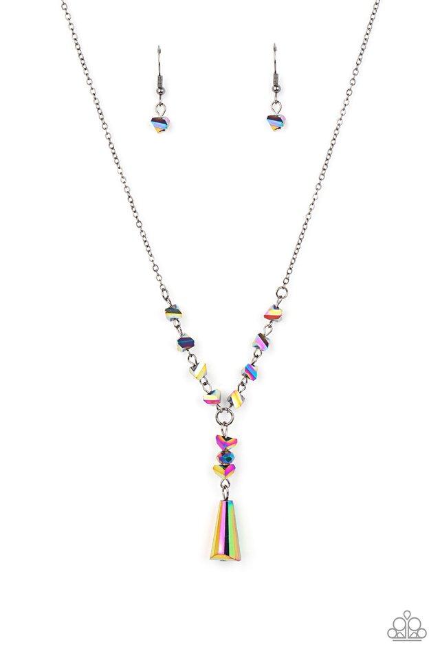 Olympian Oracle - Multi - Paparazzi Necklace Image