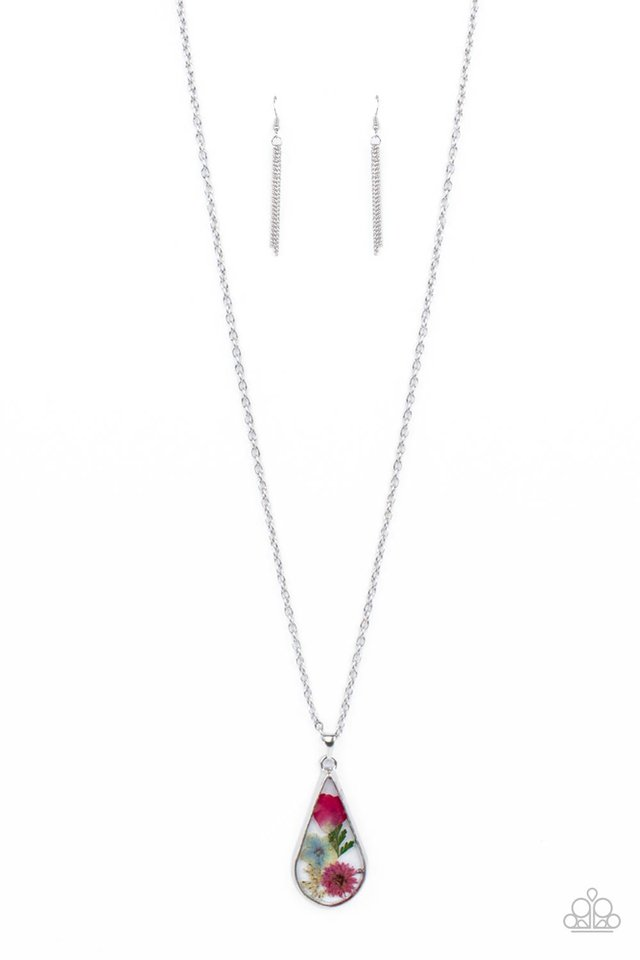 Pop Goes the Perennial - Pink - Paparazzi Necklace Image