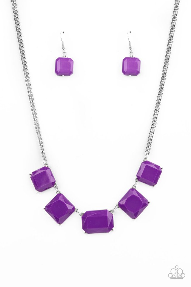 Instant Mood Booster - Purple - Paparazzi Necklace Image