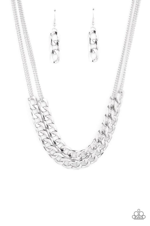 Urban Culture - Silver - Paparazzi Necklace Image