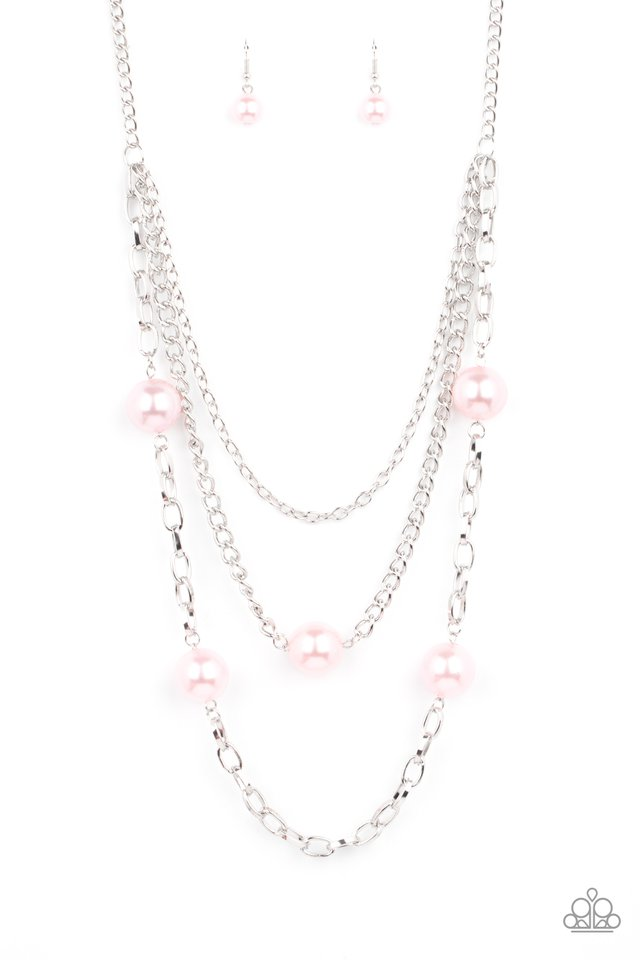 Thanks For The Compliment - Pink - Paparazzi Necklace Image