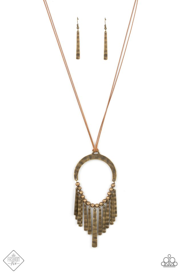 You Wouldnt FLARE! - Paparazzi Necklace Image