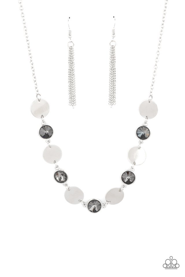 Refined Reflections - Silver - Paparazzi Necklace Image