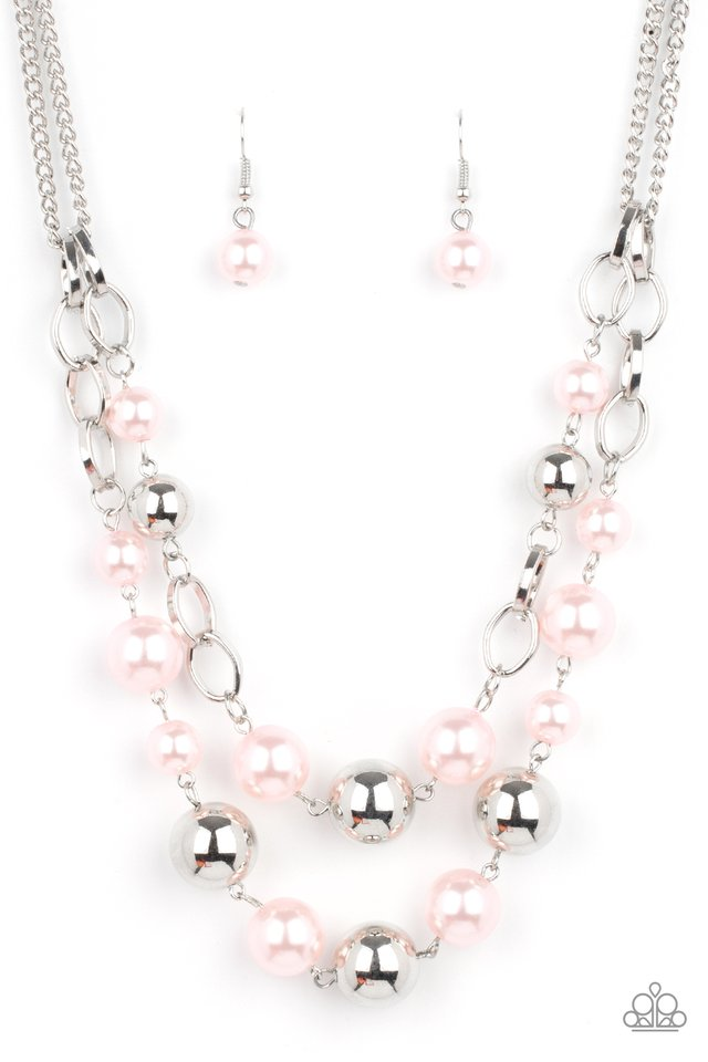 COUNTESS Your Blessings - Pink - Paparazzi Necklace Image