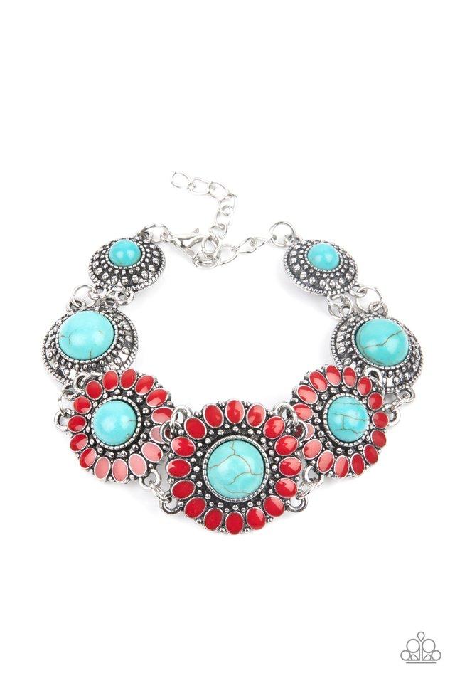Bodaciously Badlands - Red - Paparazzi Bracelet Image