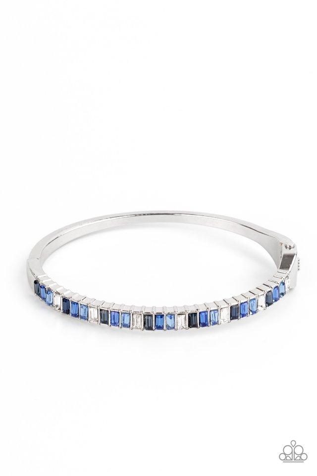 Toast to Twinkle - Blue - Paparazzi Bracelet Image