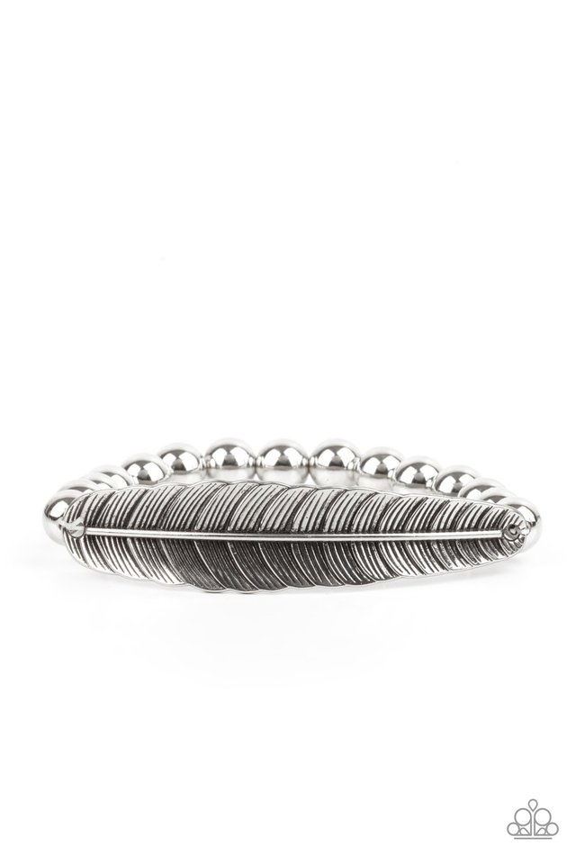 Featherlight Fashion - Silver - Paparazzi Bracelet Image
