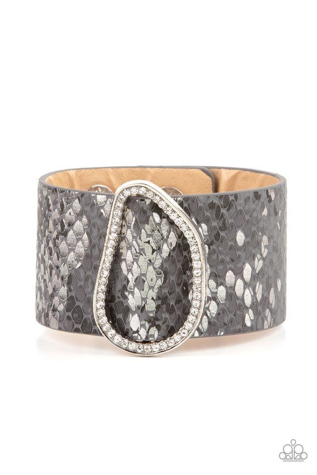 HISS-tory In The Making - Silver - Paparazzi Bracelet Image