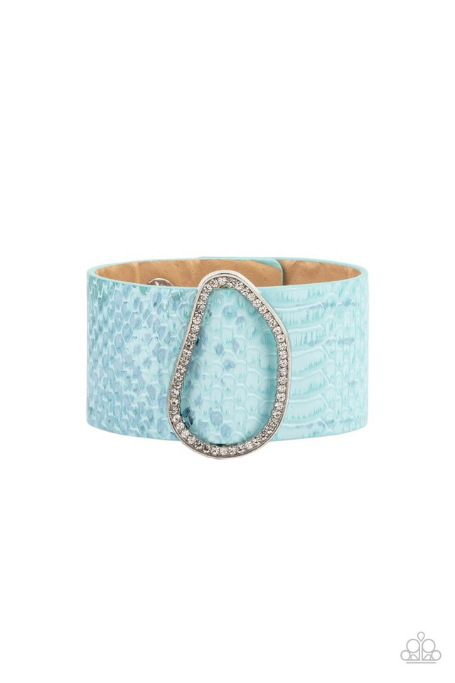 HISS-tory In The Making - Blue - Paparazzi Bracelet Image