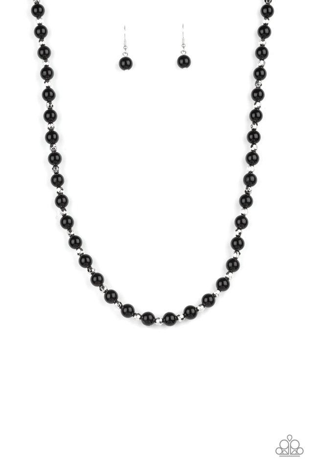Nautical Novelty - Black - Paparazzi Necklace Image