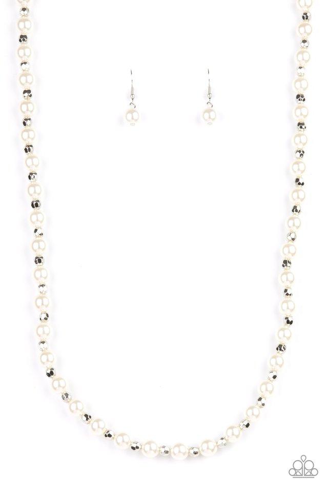 Nautical Novelty - White - Paparazzi Necklace Image