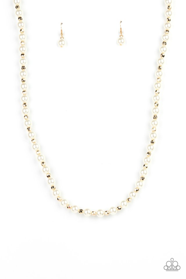 Nautical Novelty - Gold - Paparazzi Necklace Image