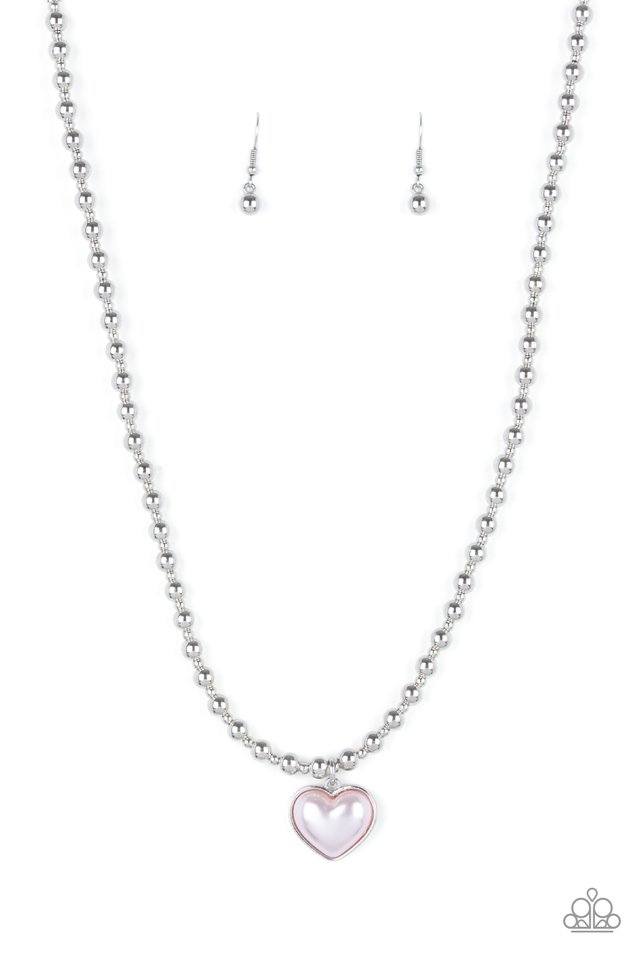 Heart Full of Fancy - Pink - Paparazzi Necklace Image