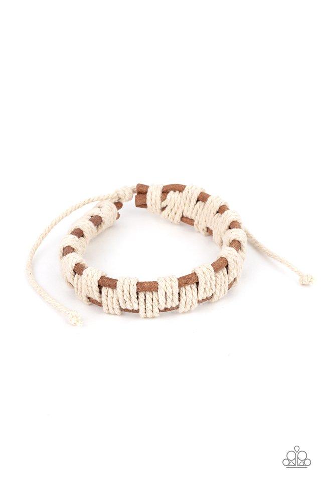 Rustic Terrain - Brown - Paparazzi Bracelet Image